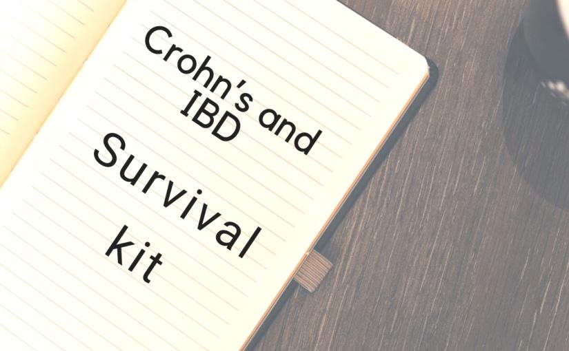 Crohn's/IBS survival Kit